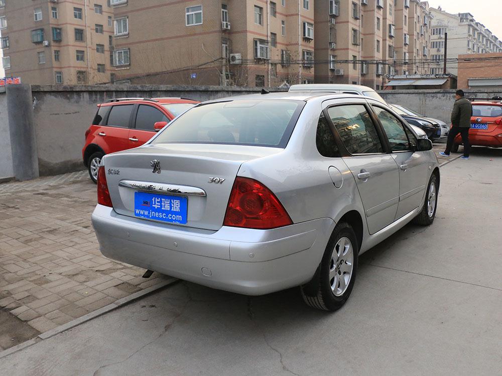 标志307 三厢 轿车 3.98万 华瑞源二手车高清图片