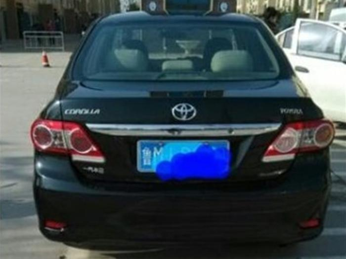 丰田卡罗拉2010款 1.6 gl5mt