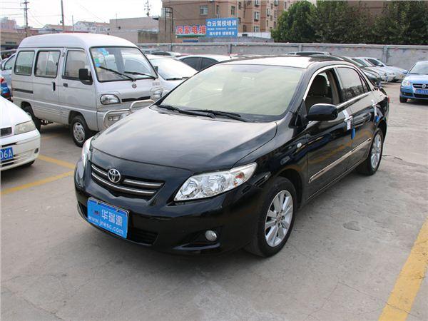 丰田卡罗拉2008款 1.8 GLX-i特别纪念版 AT