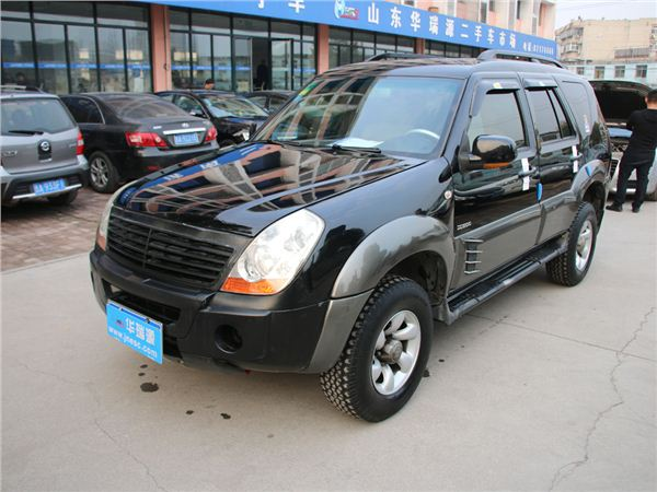 黄海翱龙SUV2007款 DD6480 2.0手动豪华型 后驱