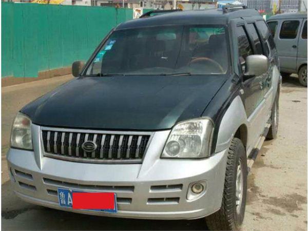 广汽吉奥帅舰2009款 2.0L 汽油标准型