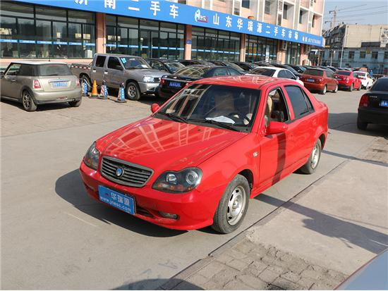 吉利汽车                                         自由舰                                         2010款1.3MT精致版