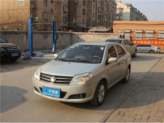 吉利汽车金刚2010款 1.5L 手动尊贵版