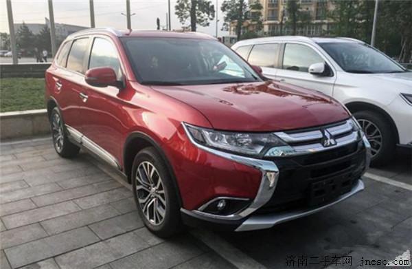 新车预告 广汽三菱新款欧蓝德有望9月国产上市高清图片