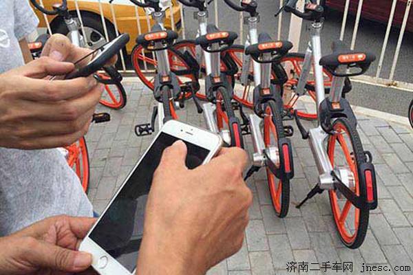 网约自行车变成