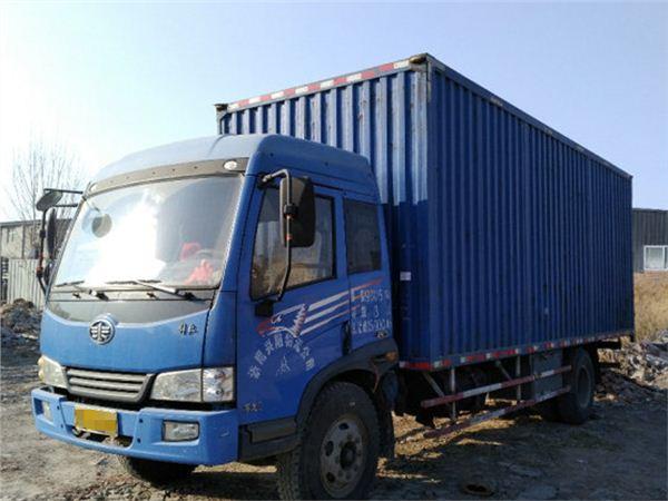 货车青岛解放赛龙2010款中卡 自卸车