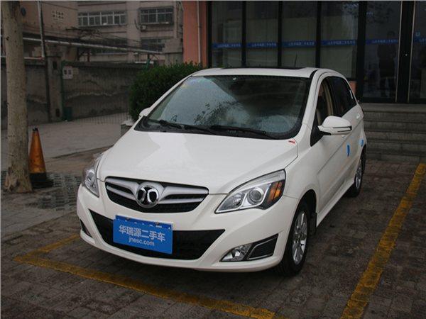 北京汽车E系列2013款 两厢 1.5L 自动乐天版