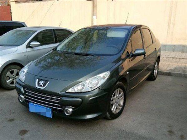 轿车标致标致3072008款2008款 1.6 自动舒适版