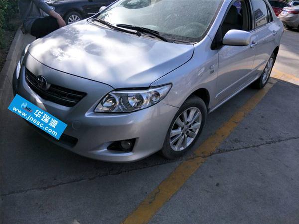 丰田卡罗拉2012款 1.6L GL 炫装版 AT
