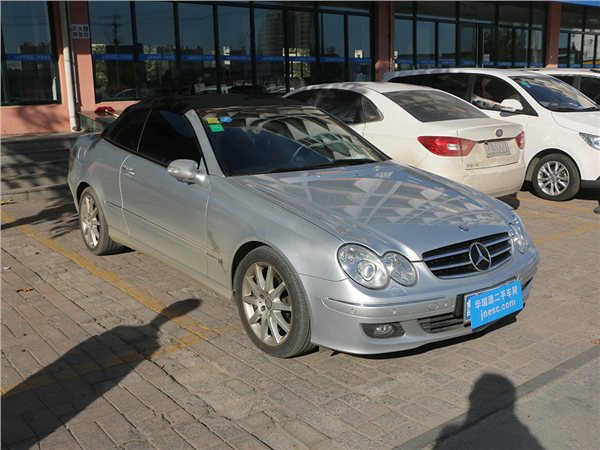 奔驰CLK级 2006款 CLK 280 3.0 自动敞篷跑车