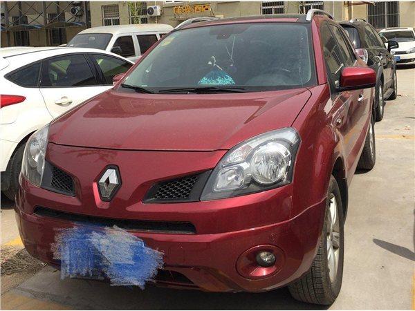 雷诺科雷傲2010款 2.5 4驱舒适型