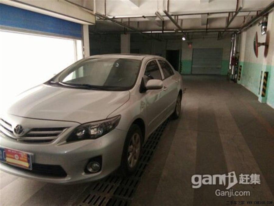 丰田卡罗拉2012款 1.6L GL 炫装版 MT