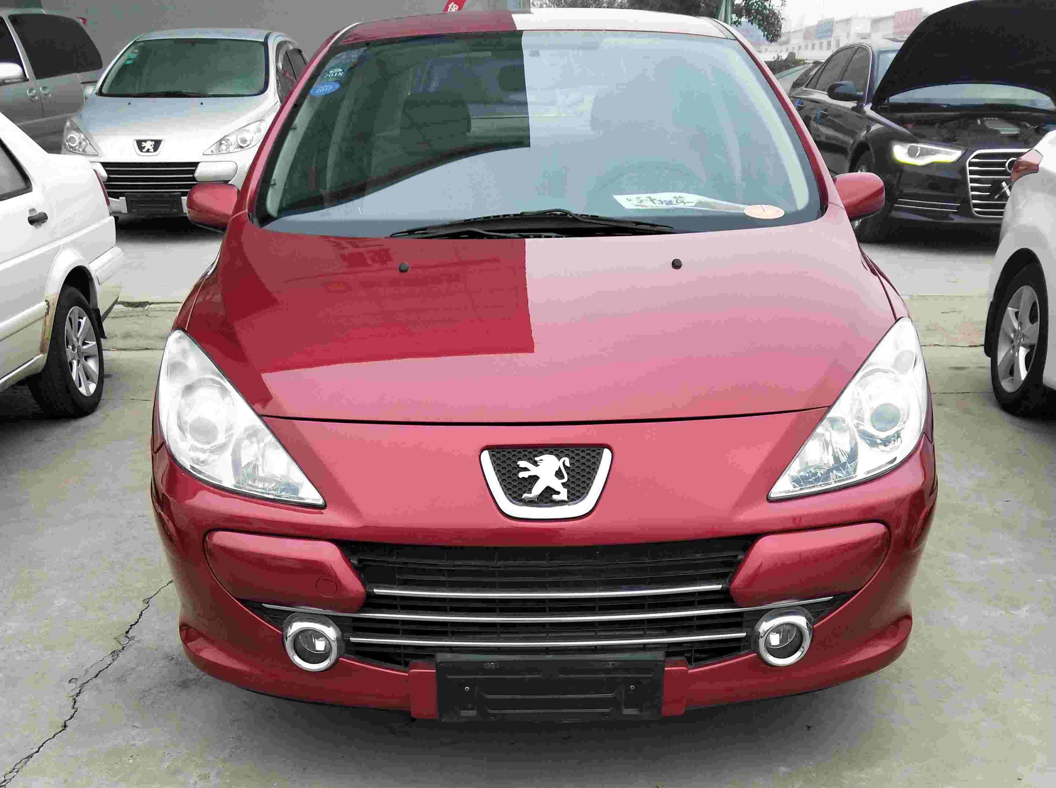 标致 标致307 2010款 三厢 1.6L 手动舒适版