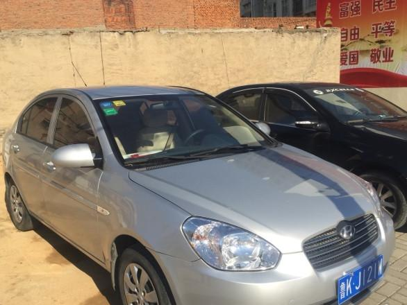 现代雅绅特2009款 1.4L 手动 豪华型(国Ⅳ)