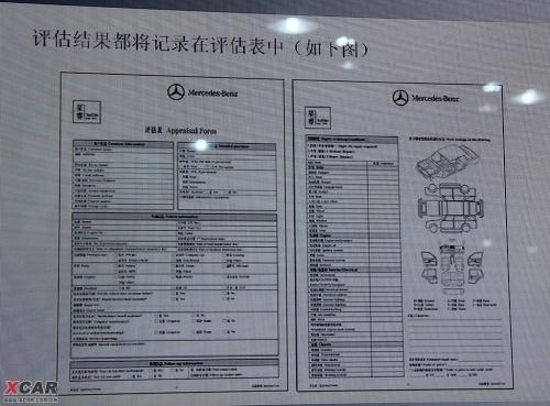 《二手车辆评估报告书》内容详情