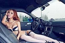 2015九州展 AAITF深圳国际汽车改装展,性感車模